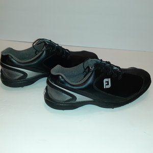 FootJoy Men's Golf Shoes 58038 Black Size 10
